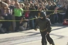 A 5-year-old boy with cancer became a superhero for a day Friday, as San Francisco transformed itself into Gotham City and thousands turned out to see the Batkid fly to the rescue.