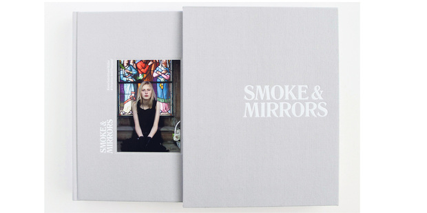 Smokes & Mirrors book cover. Photo / Supplied.