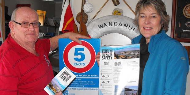WATER WISE: Increasing traffic on the Whanganui River means users should take care to be seen and follow the rules, advises Trevor Gibson. PHOTO/FILE