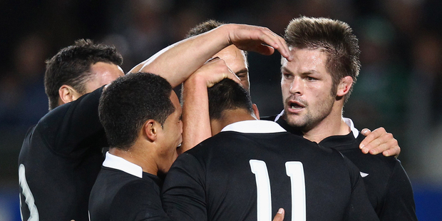 The All Blacks have played England 35 times for 27 wins, 7 losses and one draw. Photo / Getty Images.