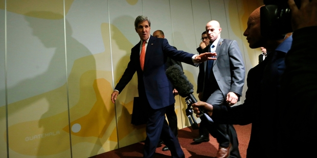 "US Secretary of State John Kerry talked of ""significant progress"". Photo / AP"
