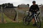 A mountain bike helps Mike Van de Elzen see some of Tasmania's best sights.