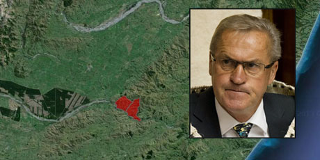 David Carter, Speaker of the House, has $11.2m in property assets, including farms in Banks Peninsula and North Canterbury