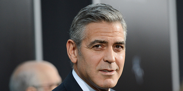 George Clooney at the New York premiere of Gravity. Photo / AP