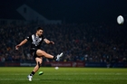 Shaun Johnson has landed 21 of 26 attempts at the World Cup for a success rate of 81 per cent. Photo / Getty Images