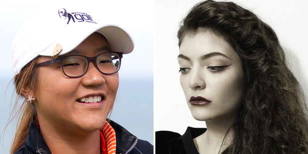 Golfer Lydia Ko and singer-songwriter Lorde. Photos / Sarah Ivey/Charles Howells