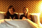 The photo of Lorde and Eleanor Catton in a New York hotel room echoes a similar picture of John Lennon and Yoko Ono