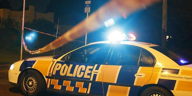 The assault on the man happened right behind Auckland city's central police station. Photo / file