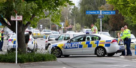 Police in Hastings.