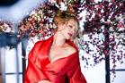 Uma Thurman is the star of the 2014 Campari calendar. Photo / Campari