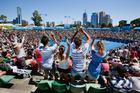The Australian Open in Melbourne is a major summer drawcard.