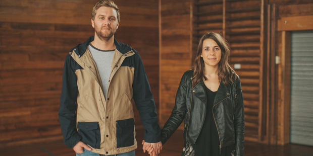 Jason and Jess Holdaway are the co-founders of FRANK stationery.