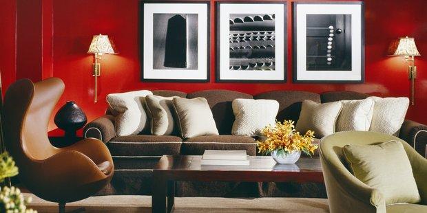 A New York interior by Sandra Nunnerley. Photographer / Durston Saylor