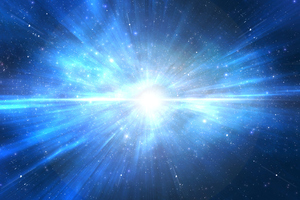 Because the blast was 3.7 billion light years away, mankind was spared. Photo / Thinkstock