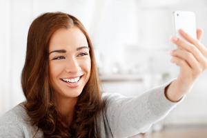 The use of the word 'selfie' has increased 17,000 per cent over the past 12 months. Photo / Thinkstock