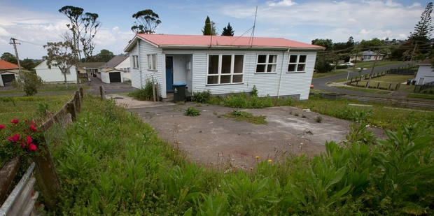 A vacant state house in the suburb. Photo / Brett Phibbs