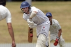 Cadets batter Joe Carter pictured batting for Bay of Plenty was amongst the runs for his club side scoring 72. Photo / File.