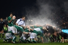 Ireland came close to victory last year, but it won't happen this time. Photo / Getty Images
