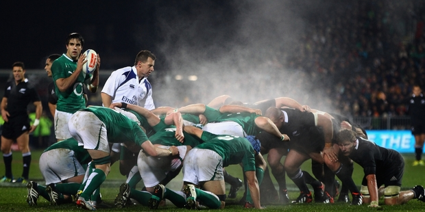 Loading Ireland came close to victory last year, but it won't happen this time. Photo / Getty Images