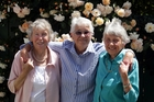 Lorraine Kendrick (left), Maureen Morris and Pauline Richards are three of the founding members of the Wanganui Osteoporosis Support Group. PHOTO/STUARTMUNRO
