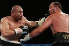 In the end Goliath was just too big for David - and David Tua ended his heavyweight boxing career in retirement.
