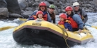 Rafting on the Tongariro River - in search of whio.