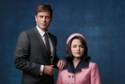 Rob Lowe as President John F. Kennedy, and Ginnifer Goodwin as Jackie Kennedy. Photo / AP