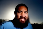 Charlie Faumuina is to lose his trademark beard for charity - but will grow it back. Photo / Getty Images