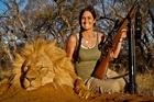 US woman Melissa Bachman gets her kicks killing tamed wild animals.
