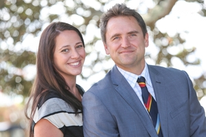 Brooke and Jamie Wansey run Student Horizons, a travel company specialising in worldwide school sports tours and educational trips. Photo / Chris Loufte