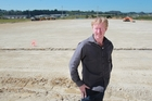 COLLABORATION: Development manager for Element IMF, Grant Downing, at the site in Tauriko.PHOTO/JOHN BORREN