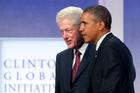 Bill Clinton and Barack Obama.AP