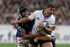 Charles Piutau showed against both France and England that he can be a real handful. Photo / AP