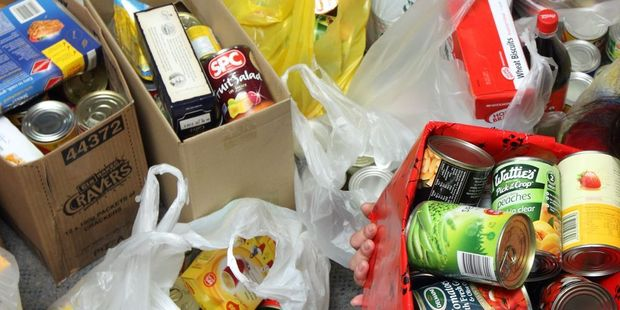 DONATION: Food parcels and support are rolling in for a Masterton woman who has been stealing food to feed her family.PHOTO/SUPPLIED