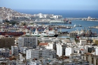 Algiers Harbour and the Belcourt neighbourhood. Photo / Wikimedia Commons image by Ludovic Courtès