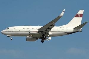 A Boeing Business Jet. File Photo / Wikimedia Commons - Photographer Aldo Bidini