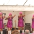 The Retro Divas entertain the crowds. Photo / James Elliston