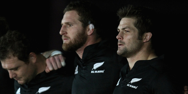 The All Blacks are in pursuit of 80-minute perfection. Photo / Getty Images