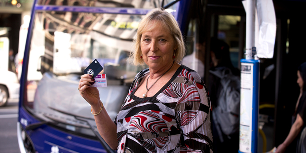 Sherry Hare will get back the money she loaded on to her now-outdated Snapper Hop card. Photo / Dean Purcell