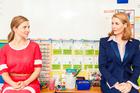 The teacher (Beth Allen) and mother ( Jennifer Ward-Lealand) meet head on.