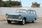 Quite a wagon - the 1962 Hillman Super Minx MkII.