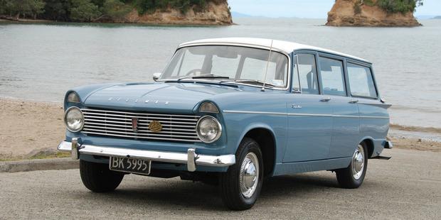 Quite a wagon - the 1962 Hillman Super Minx MkII.