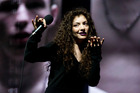 Lorde performs on stage during the awards. Photo / Dean Purcell