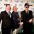 Fat Freddy's Drop wins best Roots Album wins an award during the Vodafone Music Awards. Photo / Dean Purcell