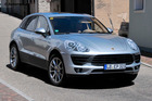 The new Porsche Macan comes in petrol and turbo-diesel engine options.