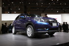 The Honda Vezel compact SUV at the Tokyo Motor Show.