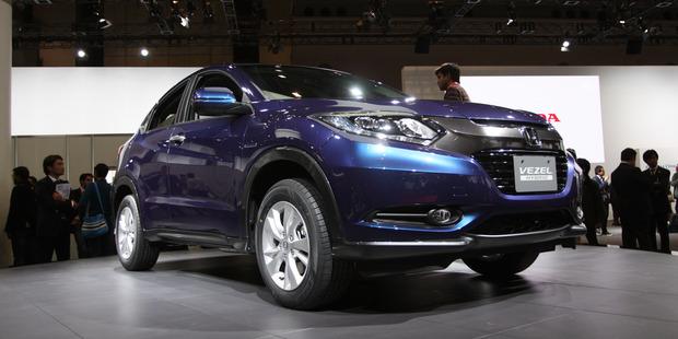 Honda's new compact SUV the Vezel