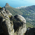 Looking down onto southern Cape Town and Signal Hill. Photo / PK Stowers