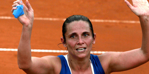 World No 14 Italian Roberta Vinci will be top seed for the Women's international tennis classic in Auckland. Photo / AP.