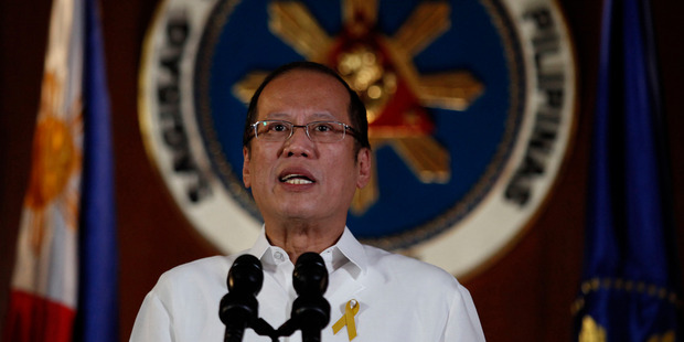 "Philippine President Benigno Aquino III said he was ""driven to despair"" by the disaster. Photo / AP"